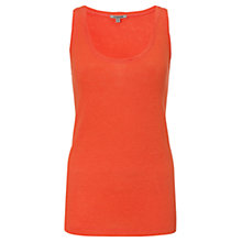 Buy Jigsaw Linen Jersey Tank Top Online at johnlewis.com