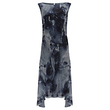 Buy Mint Velvet Luna Print Midi Dress, Multi Online at johnlewis.com
