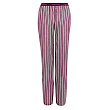 Buy Calvin Klein Charley Stripe Pyjama Pants, Purple Online at johnlewis.com
