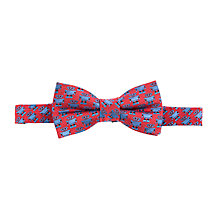 Buy John Lewis Boy Repeat Robot Bow Tie, Red/Blue Online at johnlewis.com