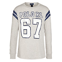 Buy Polo Ralph Lauren Boys' RL 67 Long Sleeve T-Shirt Online at johnlewis.com