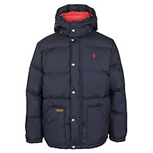 Buy Polo Ralph Lauren Boys' Padded Down Coat Online at johnlewis.com