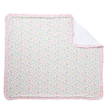 Buy Polo Ralph Lauren Baby Floral Blanket, Pink/White Online at johnlewis.com
