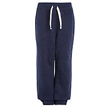 Buy Polo Ralph Lauren Boys' Drawstring Joggers, Navy Online at johnlewis.com