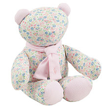 Buy Polo Ralph Lauren Baby Floral Teddy Bear, Pink/Multi Online at johnlewis.com