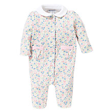 Buy Polo Ralph Lauren Floral Print Romper, Multi Online at johnlewis.com