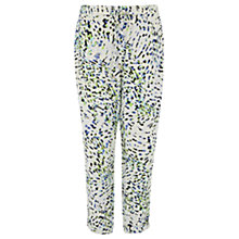 Buy Wishbone Printed Janey Jogger Trousers, Multi Online at johnlewis.com