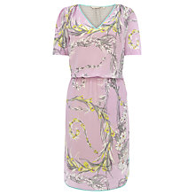 Buy Wishbone Ali Scarf Floral Silk Dress Online at johnlewis.com