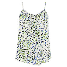 Buy Wishbone Printed Crystal Cami, Multi Online at johnlewis.com