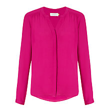 Buy Collection WEEKEND by John Lewis Blouse, Hibiscus Pink Online at johnlewis.com