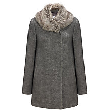 Buy John Lewis Capsule Collection Faux Fur Collar Coat Online at johnlewis.com
