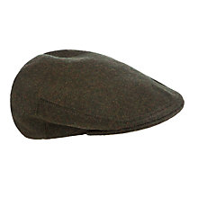 Buy Olney Hereford Wool Cap, Dark Green Online at johnlewis.com