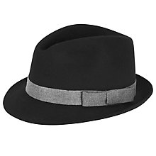Buy Christys' Henley Wool Trilby Hat Online at johnlewis.com