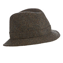 Buy Olney Rutland Wool Trilby, Green Online at johnlewis.com