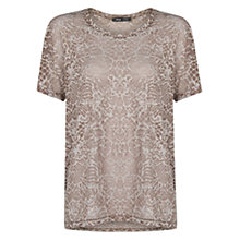 Buy Mango Devore T-Shirt Online at johnlewis.com