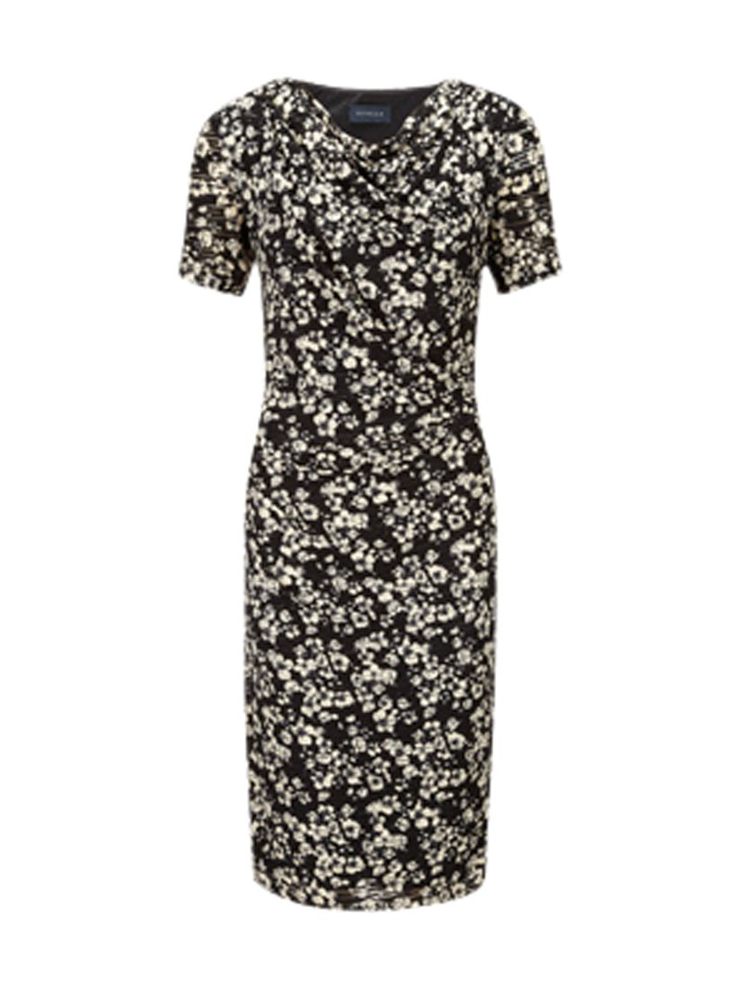 viyella burnout floral jersey dress black, viyella, burnout, floral, jersey, dress, black, 8|14, clearance, womenswear offers, womens dresses offers, women, womens dresses, special offers, 1489533