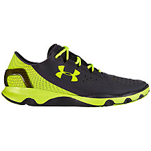 Buy Under Armour SpeedForm Apollo Men's Running Shoes, Black/Volt Online at johnlewis.com