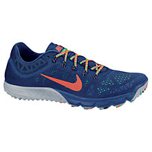 Buy Nike Men's Zoom Terra Kiger Trail Running Shoes, Blue Online at johnlewis.com