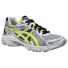 Buy Asics Children's Gel Galaxy 7 Running Shoes, White/Multi Online at johnlewis.com