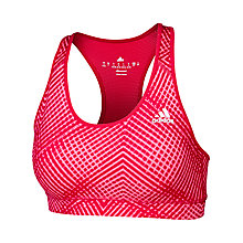 Buy Adidas Techfit Padded Sports Bra Online at johnlewis.com