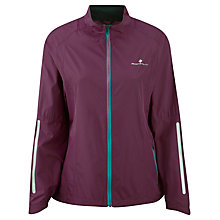 Buy Ronhill Aspiration Windlite Running Jacket, Grape/Teal Online at johnlewis.com
