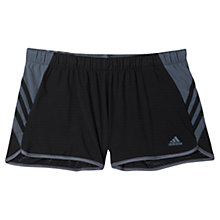 Buy Adidas Ultimate 3-Stripes Perforated Shorts, Black/Onix Online at johnlewis.com