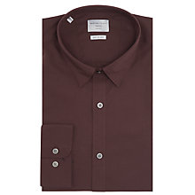 Buy Selected Homme Travis Dublin Poplin Slim Fit Shirt, Fudge Online at johnlewis.com