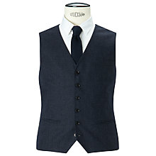 Buy Selected Homme Donegal Waistcoat, Airforce Online at johnlewis.com