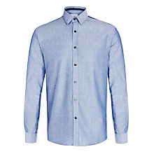 Buy Selected Homme Ernie Slim Fit Shirt, Blue Shadow Online at johnlewis.com