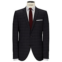 Buy Selected Homme Milled Prince of Wales Check Suit Jacket, Navy Online at johnlewis.com