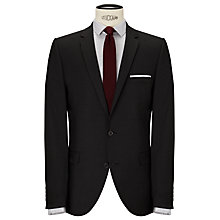 Buy Selected Homme Micro Houndstooth Suit Jacket, Charcoal Online at johnlewis.com