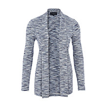 Buy Viyella Space Dye Jersey Cardigan, Bluebird Online at johnlewis.com