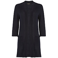 Buy Jaeger 3/4 Sleeve Linen Cardigan Online at johnlewis.com
