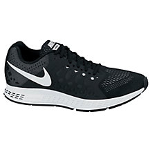 Buy Nike Air Zoom Pegasus+ 31 Men's Running Shoes, Black/White Online at johnlewis.com