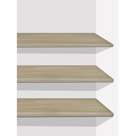 Buy John Lewis Elstra Wardrobe Shelves, Set of 3 Online at johnlewis.com