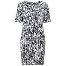 Buy Whistles Minna Braid Print Dress, Multi Online at johnlewis.com