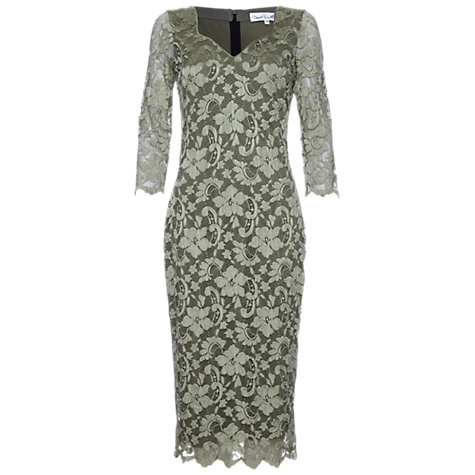 Buy Damsel in a dress Cassis Lace Dress, Green Online at johnlewis.com