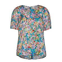 Buy COLLECTION by John Lewis Floral Print Top Online at johnlewis.com