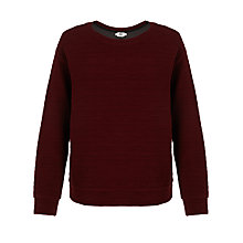 Buy Kin by John Lewis Textured Sweat Top Online at johnlewis.com