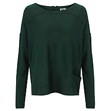 Buy Kin by John Lewis Reverse Seam Jumper, Pine Grove Online at johnlewis.com