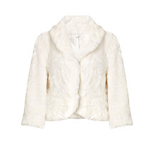 Buy John Lewis Cropped Astrakhan Jacket Online at johnlewis.com