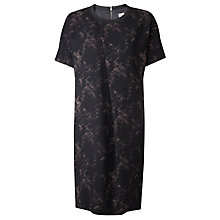 Buy Kin by John Lewis Herringbone Printed Dress, Multi Online at johnlewis.com