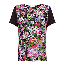 Buy COLLECTION by John Lewis Floral Print Front Top, Multi Online at johnlewis.com