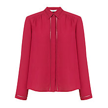 Buy COLLECTION by John Lewis Long Sleeve Trim Detail Blouse Online at johnlewis.com
