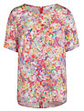 COLLECTION by John Lewis Floral Print Top