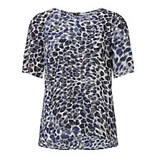 Buy COLLECTION by John Lewis Animal Print Silk Top, Multi Online at johnlewis.com