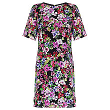 Buy COLLECTION by John Lewis Floral Printed Silk Dress, Multi Online at johnlewis.com