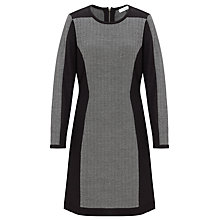 Buy COLLECTION by John Lewis Bodycon Contrast Dress, Grey/Black Online at johnlewis.com