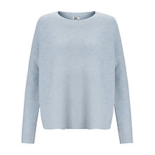Buy Kin by John Lewis Tuck Stitch Jumper, Pale Pink Online at johnlewis.com
