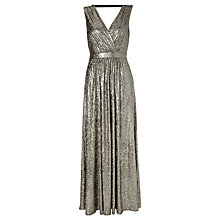 Buy Somerset by Alice Temperley Lurex Maxi Dress, Gold Online at johnlewis.com